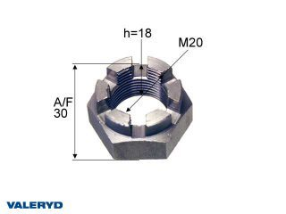 Kronmutter M20x1,5