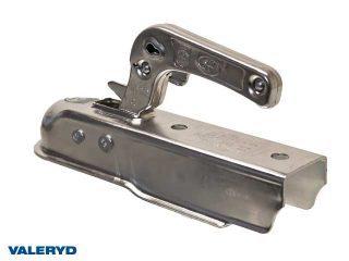 Kulkoppling 750 kg, Fyrkant 50mm, vertikal hålbild CC= 90mm