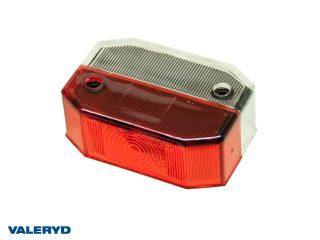 Reservglas Aspöck Flexipoint I Breddmarkeringsljus 65x44x25 röd/vit