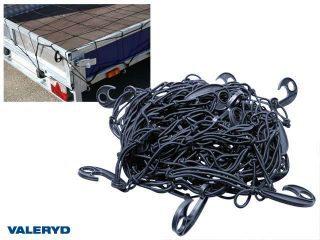 Lastnät 3000x2400, maskstorlek 130, tråd 4,5mm, med 18 krokar