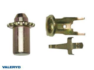 Brake adjustment, flat spring and brake adjuster counterhold fits AL-KO