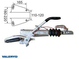 Overrun brake Knott KF20-A, vers. GF, 1.100-2.000 kg